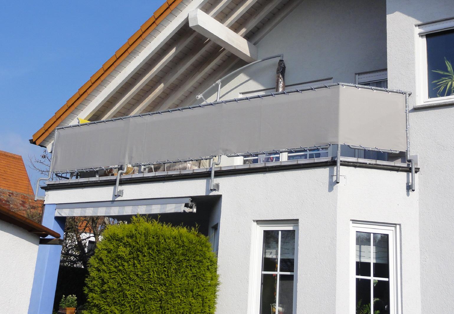 Balkonbespannungen Markisenstoff auf mab